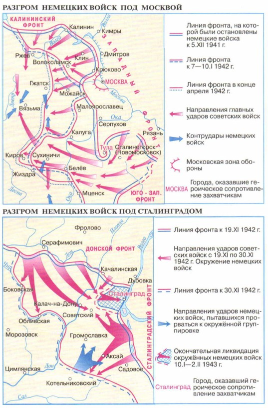 День начала контрнаступления советских войск против немецко-фашистских в битве под москвой (1941 год)