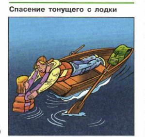 почему посадку в лодку производят когда она уже на воде