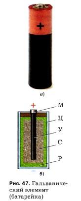 Гальванический элемент (батарейка)